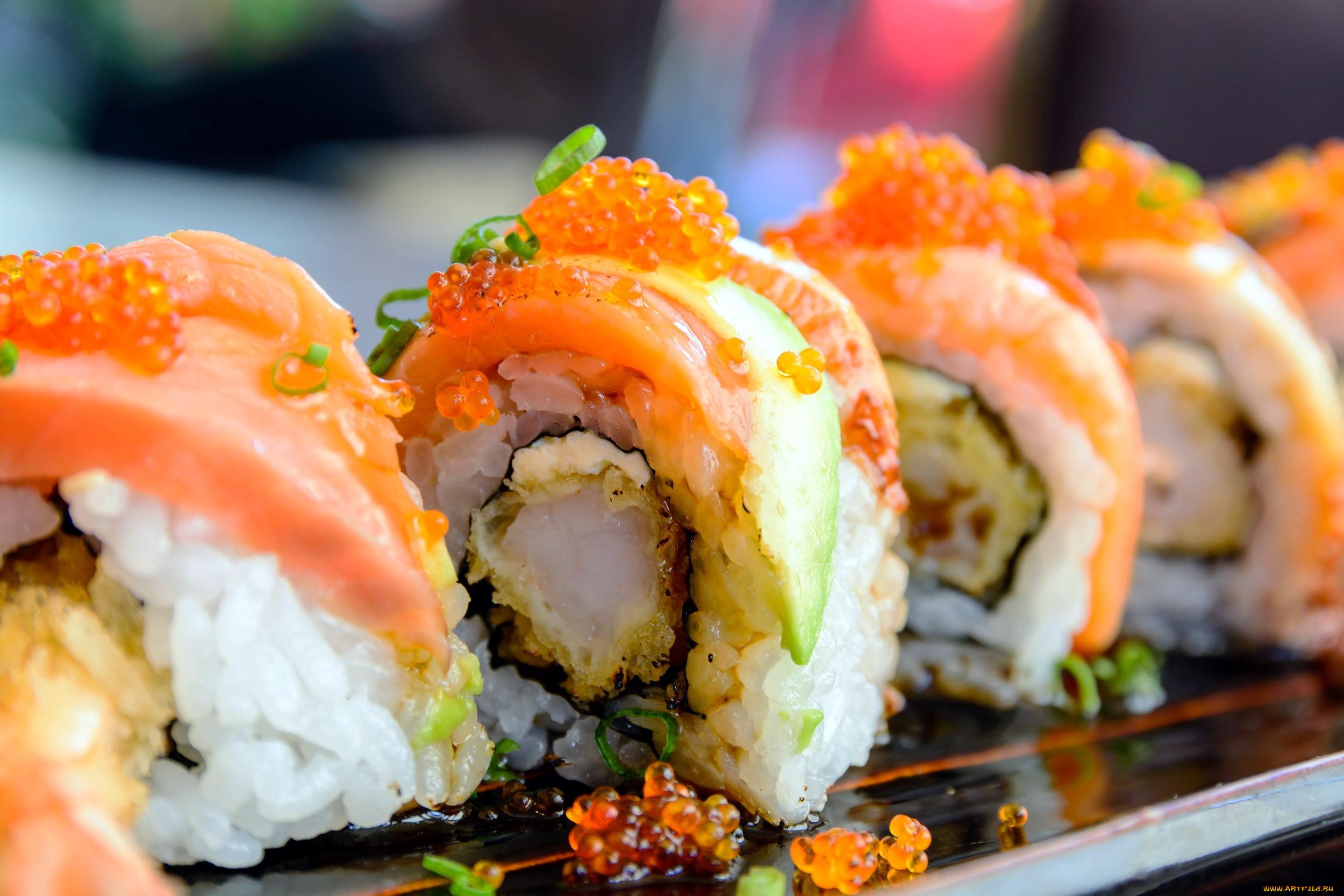 Картинки про роллы и суши